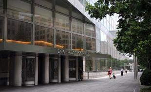 Le siège de la banque Goldamn Sachs à Manhattan (New York)