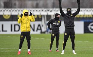 Dortmund a repris l'entraînement fin mars