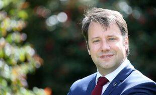 Le socialiste Loïg Chesnais-Girard est président de la région Bretagne depuis 2017.