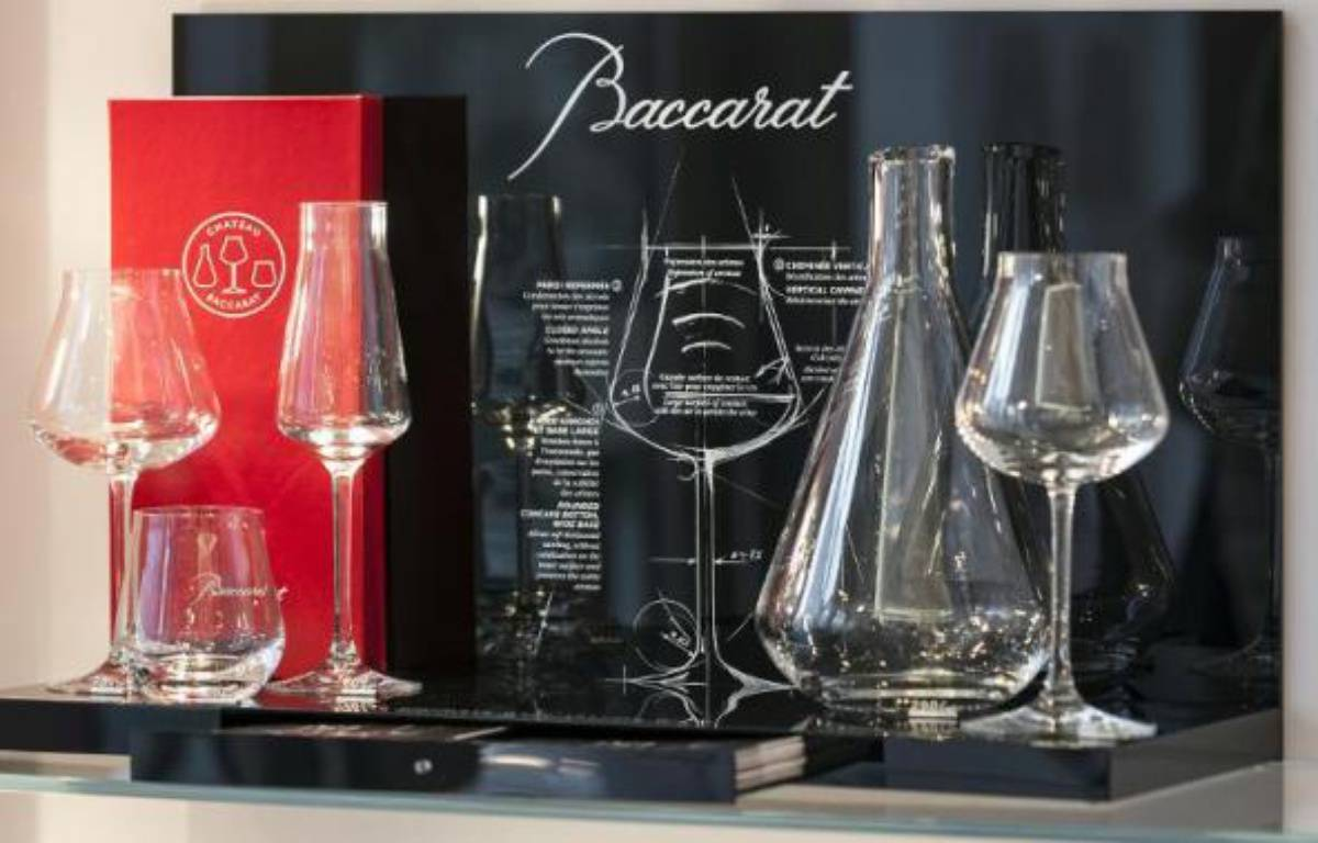 Des verres de la cristallerie de Baccarat. – Jean-Christophe Verhaegen AFP