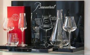 Des verres de la cristallerie de Baccarat.