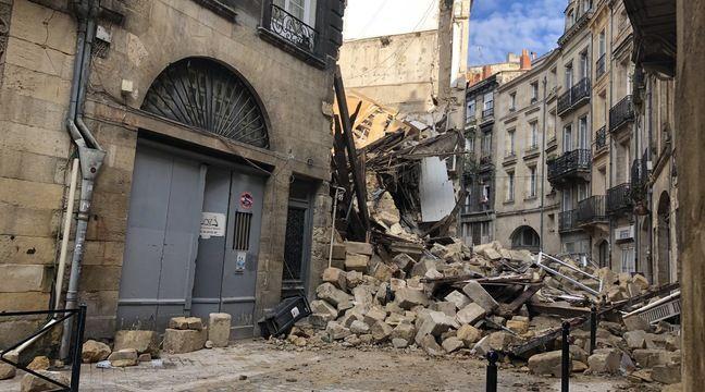 Effondrement d'immeubles à Bordeaux: Des évacuations par crainte d'un « effet domino »