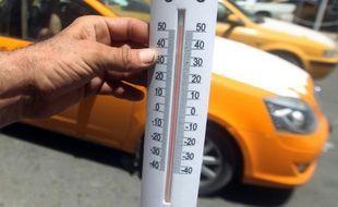 Illustration d'un thermomètre