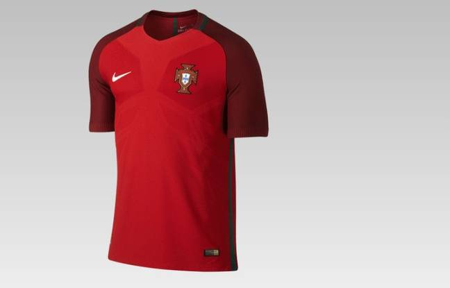 Le maillot du Portugal à l'Euro
