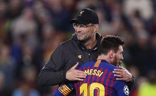 Klopp et Messi