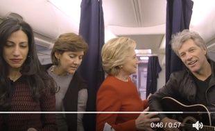 Hilarious Hillary... Quand la candidate relève le #MannequinChallenge