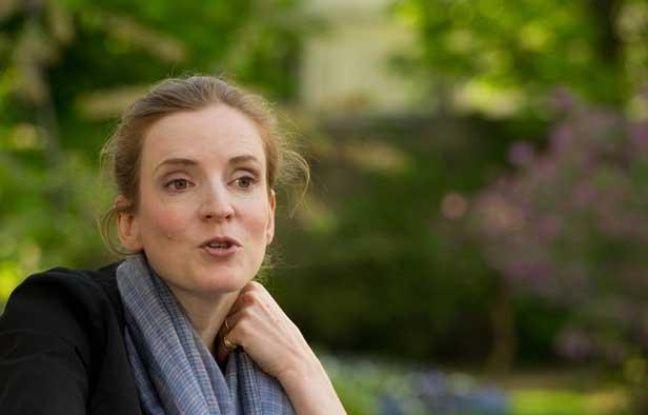 La ministre de l'Environnement Nathalie Kosciusko-Morizet, le 6 avril 2011 dans les jardins du ministère