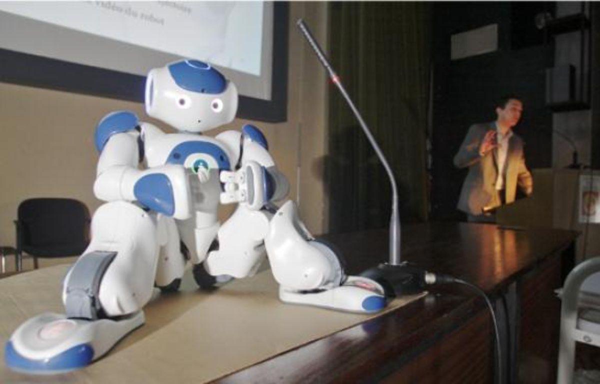 Ce robot est programmé pour jouer les anges gardiens auprès des seniors. –  F. Scheiber / 20 minutes