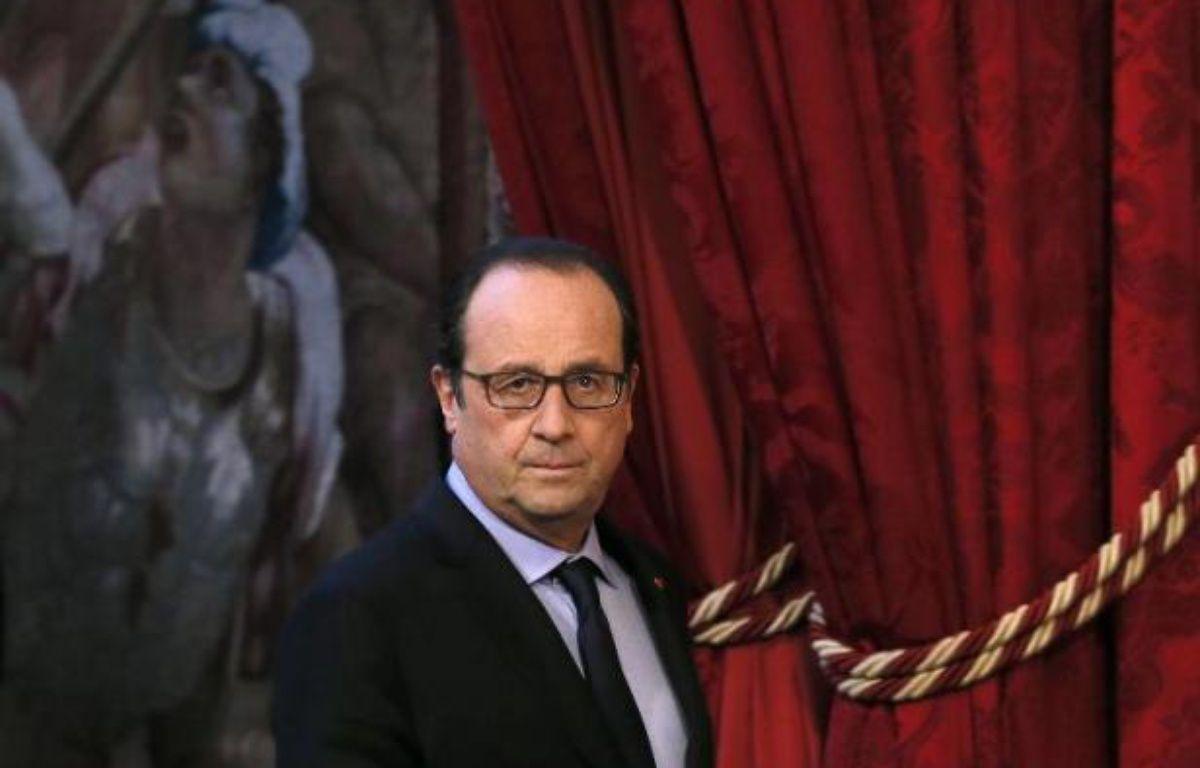 Le président de la République François Hollande, le 4 décembre 2014 à l'Elysée, à Paris – Patrick Kovarik AFP