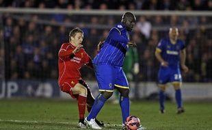 Adebayo Akinfenwa a fait sensation face à Liverpool lundi soir.