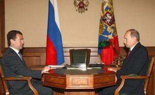"""""""J'ai signé les décrets sur la reconnaissance par la Russie de l'indépendance de l'Ossétie du Sud et de l'Abkhazie"""", a-t-il dit dans une déclaration solennelle à la télévision russe."""