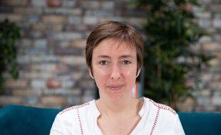 Caroline De Haas, cofondatrice de #NousToutes et militante contre les violences sexuelles, dans les locaux de « 20 Minutes », le 24 février 2021.