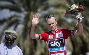Le Britannique Chris Froome a remporté la 5e étape du Tour d'Oman cycliste vendredi, après avoir résisté jusqu'au bout aux multiples attaques de l'Espagnol Alberto Contador, conservant donc plus que jamais son maillot rouge de leader à la veille de l'arrivée.