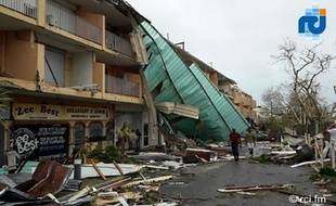 L'ouragan Irma s'est abattu Saint-Martin