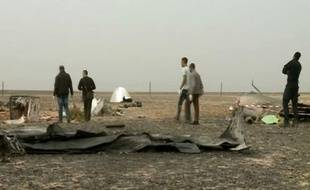 Egypte: Des experts russes sur le site du crash