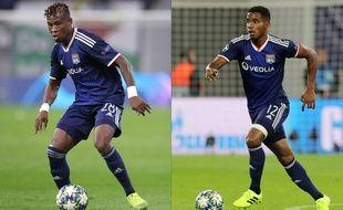 Youssouf Koné et Thiago Mendes vivent un début de saison compliqué avec l'OL.
