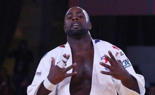 Teddy Riner a remporté son dixième titre de champion du monde de judo, le 11 novembre 2017 à Marrakech.
