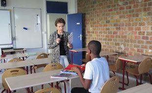 Martine Lavanchy, chargée de la coordination pédagogique de l'internat de la réussite du collège Les Touleuses à Cergy-Pontoise (Val-d'Oise).