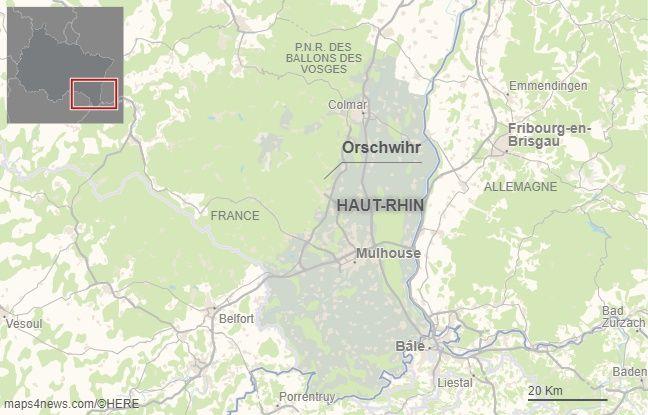Orschwihr, dans le Haut-Rhin.