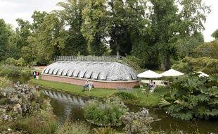 Le Jardin des plantes à Nantes.