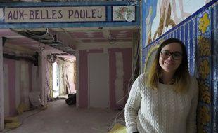 Caroline, 35 ans, a transformé les «Belles Poules» en une salle de réception