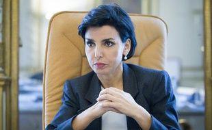 Rachida Dati dans son bureau de la mairie du 7e arrondissement de Paris, le 19 juin 2012.