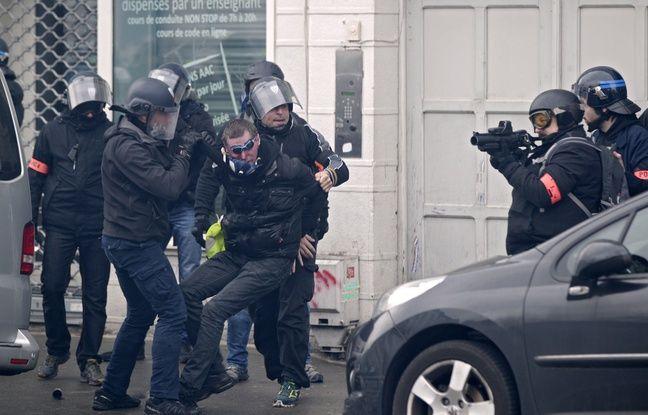 VIDEO. «Gilets jaunes»: Des images d'une interpellation musclée à Lille suscite l'émoi chez les manifestants