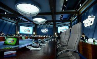 Les ministres et les gouverneurs des Banques centrales assistent le 20 juillet 2013 au sommet du G20 à Moscou