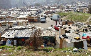 Entre 400et 500Roms vivent dans ce campement à Sarcelles, considéré comme le plus grand de la région.