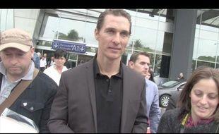Matthew McConaughey à Cannes.