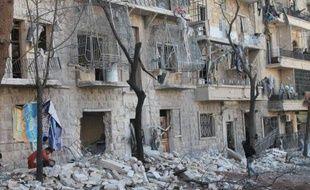 """Le régime syrien a remporté un nouveau succès militaire en reprenant un bastion rebelle, Paris doutant que la conférence de paix prévue en janvier ne débouche sur une issue """"rapide"""" à la guerre, entrée lundi dans son 1.000e jour."""