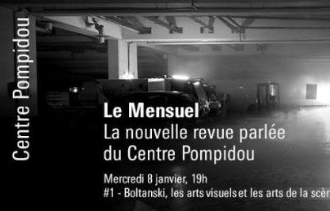 Visuel de la soirée-rencontre de la Nouvelle Revue Parlée du Centre Georges Pompidou