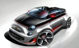 Voila à quoi pourrait ressembler la future Abarth 500 Speedster