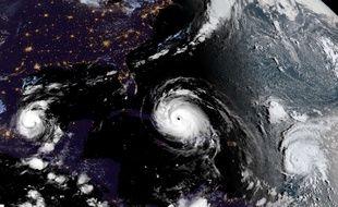 Katia, Irma et Jose: trois ouragans sont sont formés à quelques jours d'intervalle dans l'Atlantique.