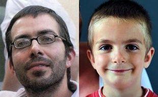 Sylvain Jouanneau et son fils Mathis, portés disparus depuis le 4 septembre 2011.