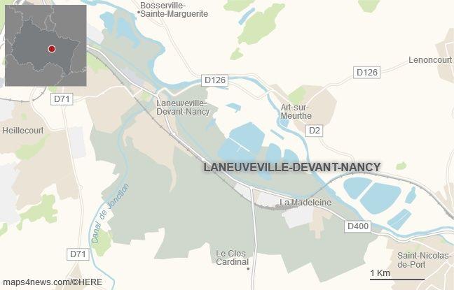 La commune de Laneuveville-devant-Nancy, en Meurthe-et-Moselle.