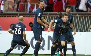 A une semaine du clasico contre le leader marseillais, le PSG n'a pas baissé de rythme et a obtenu son 4e succès d'affilée en L1 face à Sochaux (2-0), samedi lors de la 7e journée, alors que Montpellier, le champion de France, s'est rassuré en s'imposant à Nancy (2-0).