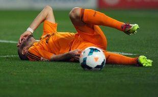 L'attaquant français du Real Madrid Karim Benzema, le 15 mars 2014.