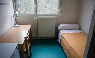 Une chambre d'étudiant à Tours, le 13 février 2020.