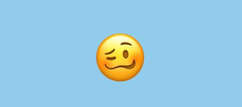 Le nouvel emoji «Woozy Face» ou «dans les vapes» suscite de nombreuses interrogations chez les internautes.