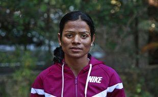 L'athlète indienne Dutee Chand, le 29 octobre 2014.
