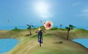 Le jeu du jour: Stunt bike island