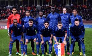 L'équipe de France Espoirs en 2013.