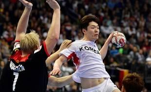 La Corée unifiée a affronté l'Allemagne en ouverture du tournoi