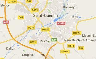 L'agression a eu lieu dans une épicerie de Saint-Quentin