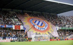 Des supporters de Montpellier (Illustration).