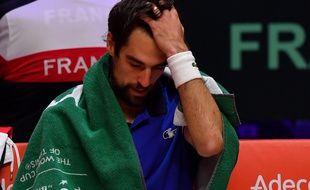 Chardy n'a pas existé face à Coric en ouverture de la finale de la Coupe Davis.