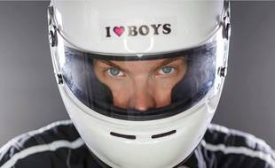 Oliver Warman, animateur de la communauté Facebook «Gay Racer».