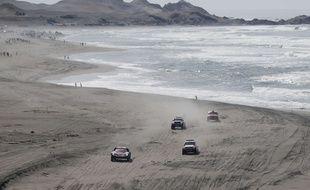 Le tracé du Dakar 2018 prévoyait de longer la côte Pacifique