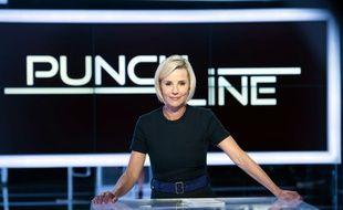 Laurence Ferrari présente une nouvelle émission hebdomadaire et dominicale: «Punchline»